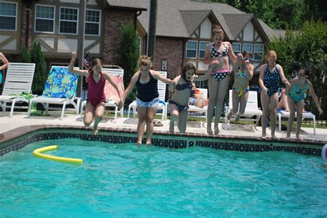 We are the Presleys: Payton's Preteen Pool Party in Pictures