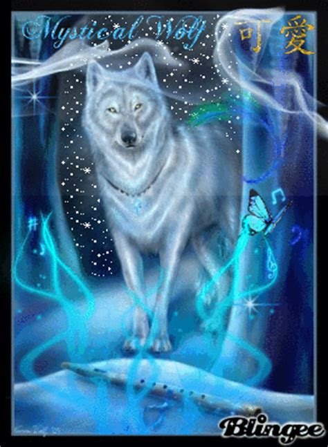 Mystical Wolf Picture #83992153 | Blingee