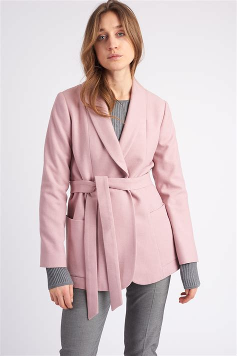 Stockh Lm Asteria Coat Pink - MarQet