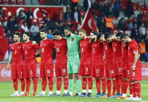 Turkey football fans boo during minute of silence for