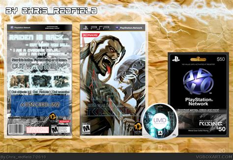 Metal Gear Solid: Rising PSP Box Art Cover by Chris_redfield