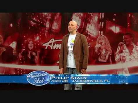 Phil Stacey's American Idol 6 Audition - YouTube
