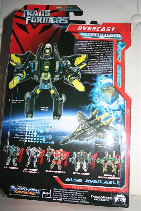 Transformers Movie Toys - 2007: Overcast - Deluxe Class