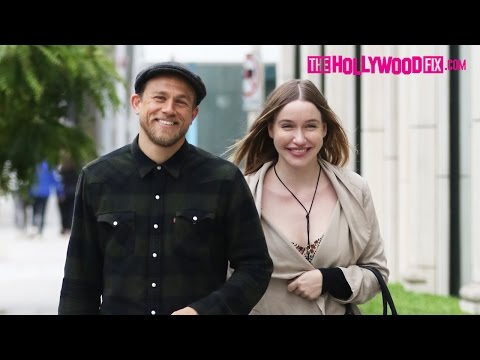Charlie Hunnam and girlfriend Morgana shopping in LA as