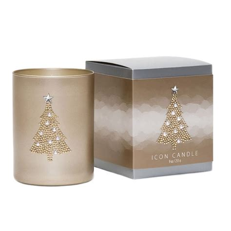 Primal Elements Icon Candle Christmas Tree Vintage