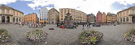 Old Town Square in Stockholm, Sweden 360 Panorama | 360Cities