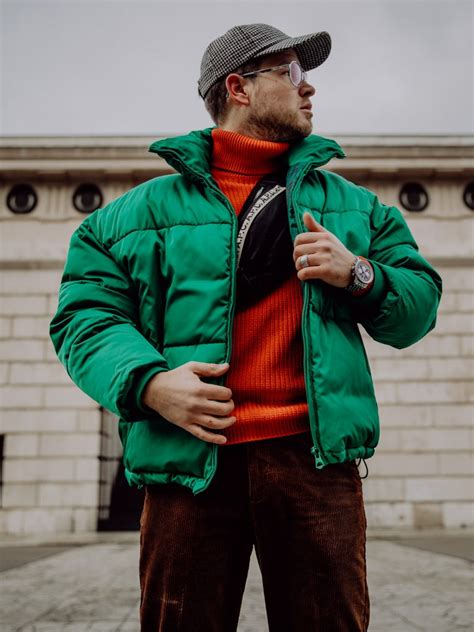 Winter Outfits for Men - Oversized Puffer Jacket and