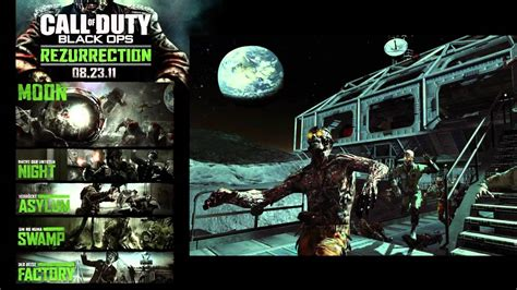 """Black Ops: DLC Map Pack #4 - """"Rezurrection"""" All Zombies"""