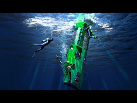 James Cameron's sub makes successful unmanned test dive to