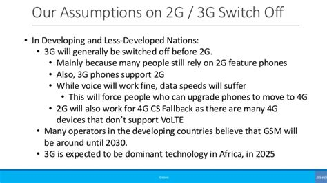 Beginners: When will 2G & 3G be switched off now that 5G