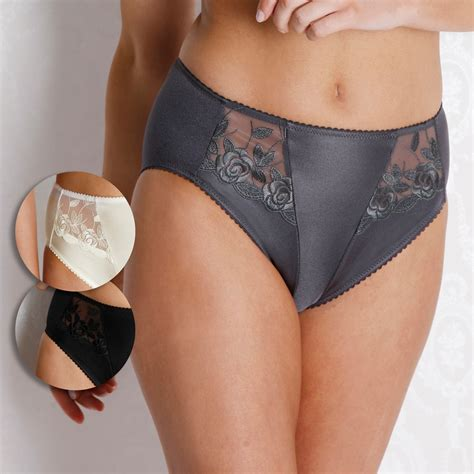 Miss Mary Embroidered Shape Panty 38-46 - Brief - Briefs