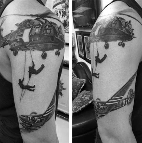 Top 63 Air Force Tattoo Ideas [2020 Inspiration Guide]