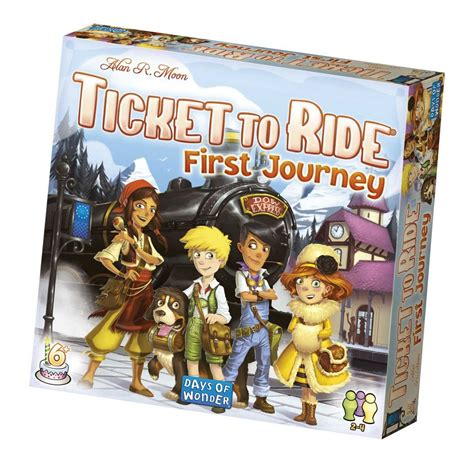 Spill Ticket To Ride My First Journey   Norli