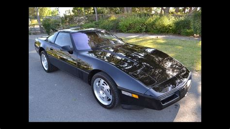SOLD 1990 Chevrolet Corvette ZR-1 Coupe Black for sale by