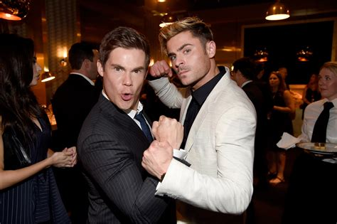 How come we never noticed that Zac Efron and Adam DeVine