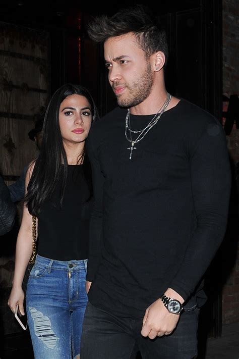EMERAUDE TOUBIA and Prince Royce at Tao in Los Angeles 05