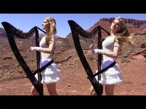 SCORPIONS - Send Me An Angel - Harp Twins (Camille and