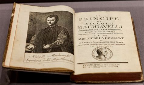 New Modes and Orders: Niccolò Machiavelli, 'The Prince'