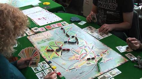 Ticket to Ride UK Expansion - YouTube