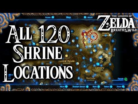Zelda Breath of the Wild Tower Locations   How To Climb Guide
