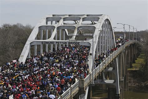 Remembering Selma: Marchers Commemorate 'Bloody Sunday