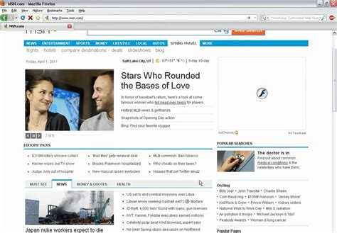 How to Disable MSN Bing Dropdown Search in Firefox - YouTube
