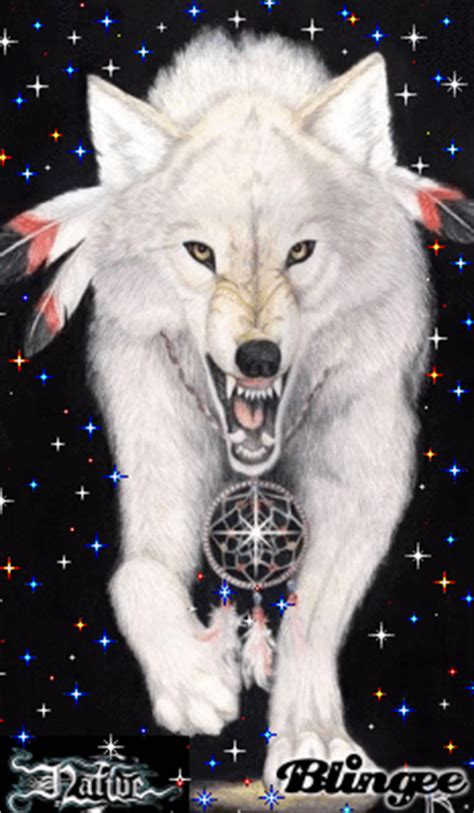 Native American Wolf Spirit Picture #90548165 | Blingee