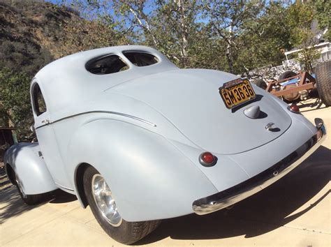 All Steel 1940 De Luxe Willys Coupe   The H