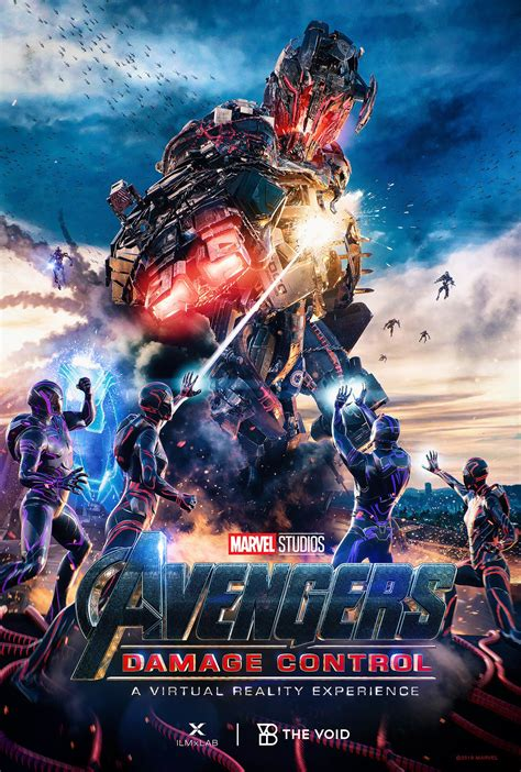 Ultron Returns in Official Poster for Avengers: Damage Control