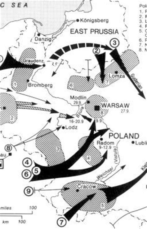 German Order of Battle for Fall Weiss (Invasion of Poland