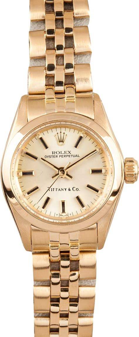 """Rolex Lady President """"Tiffany & Co"""" Dial - Save $1000's at"""