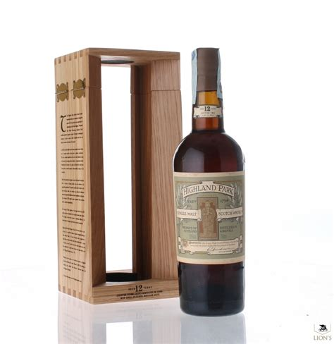 Highland Park 12yo, Saint Magnus edition two one of the