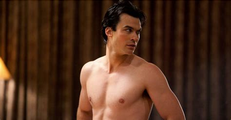 The Vampire Diaries Shirtless Pictures | POPSUGAR