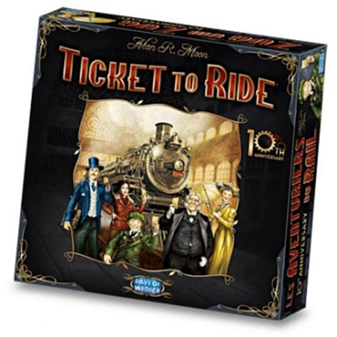 Ticket to Ride Getting Deluxe 10th Anniversary Edition