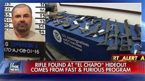 'El Chapo' Armory Included Fast and Furious