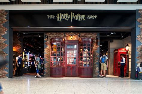 The Harry Potter Shop At Heathrow Terminal 5 Just Got