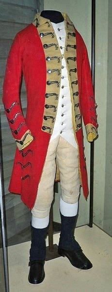 British Army Uniforms during the American Revolutionary