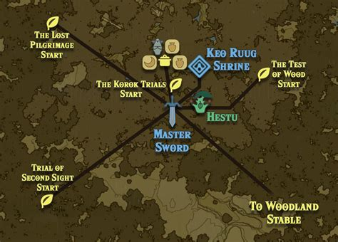 Zelda Breath of the Wild guide: Korok Forest location and