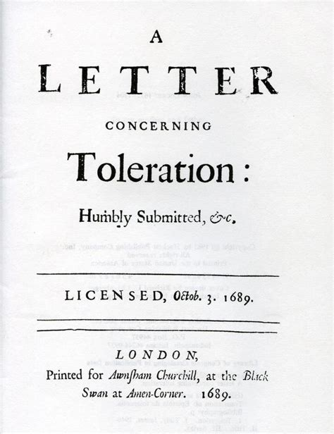 A Letter Concerning Toleration - Wikipedia
