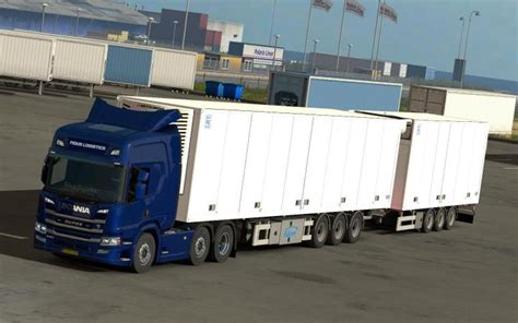 ETS2 – Scania Ngs P Cab (Add-On For R Chassis) V1