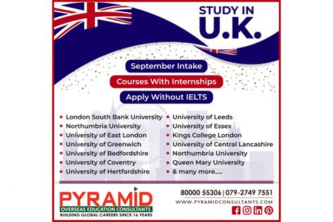 STUDY IN UK | Pyramid Overseas Education Consultants