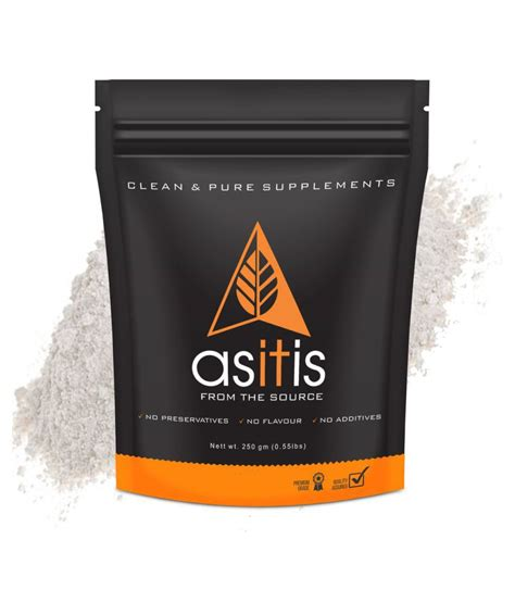 ASITIS Nutrition BCAA - Branched Chain Amino Acids 250 gm
