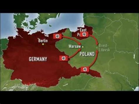 WWII in Colour: Invasion of Poland - YouTube