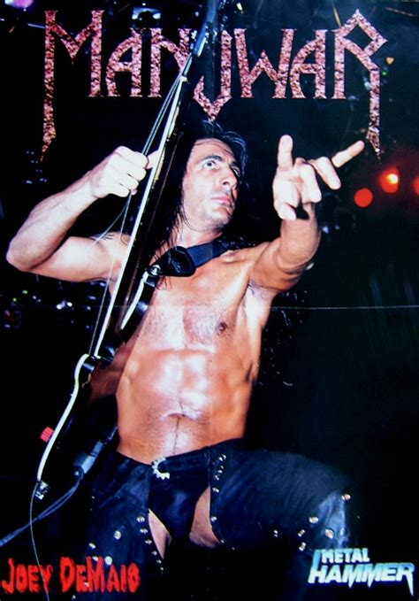 Joey DeMaio (Poster) - Sir Laws Manowar Collection