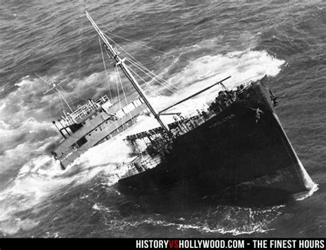 SS Pendleton Bow Section, which broke apart from the stern