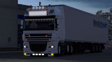 DAF XF 105 modified | ETS2 Mods