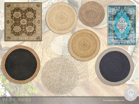 VEOX Rugs - Sims 4 Mod Download Free