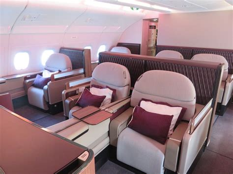 Review of Qatar Airways flight from Doha to Paris in First
