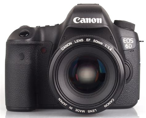 Canon Eos 6d Front New