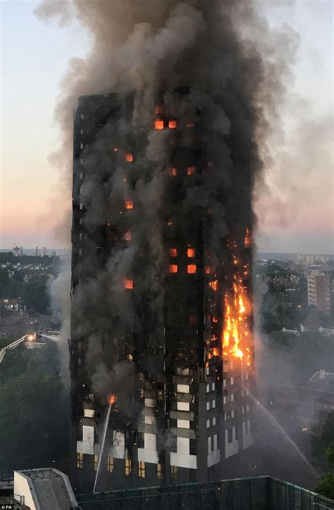 Grenfell Tower: How fire took hold of the building   Daily
